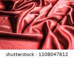 texture  pattern. silk fabric...   Shutterstock . vector #1108047812