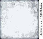 vintage grey grunge background | Shutterstock . vector #1108081676