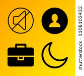 business vector icon set...