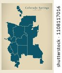 modern city map   colorado...   Shutterstock .eps vector #1108117016