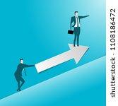business deal. concept business ... | Shutterstock .eps vector #1108186472