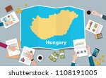 hungary economy country growth... | Shutterstock .eps vector #1108191005