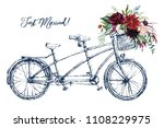 watercolor hand painted... | Shutterstock . vector #1108229975
