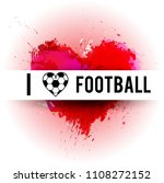 football abstract background. ... | Shutterstock .eps vector #1108272152