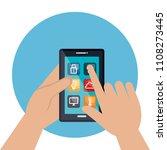smartphone controlling smart...