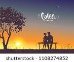 happy valentines day... | Shutterstock .eps vector #1108274852