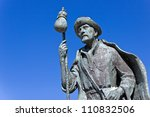 monument to pilgrims on the... | Shutterstock . vector #110832506