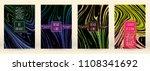 modern marble cover design for... | Shutterstock .eps vector #1108341692