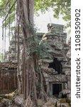 ta prohm temple at angkor wat... | Shutterstock . vector #1108350902