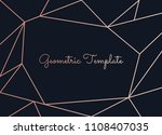 beautiful template with... | Shutterstock .eps vector #1108407035