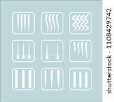 vector illustration of a hair... | Shutterstock .eps vector #1108429742