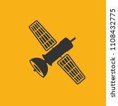 satellite vector icon design   Shutterstock .eps vector #1108432775