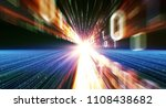3d illustration. color bytes of ... | Shutterstock . vector #1108438682