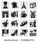 vector black french culture...