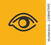 eye vector icon design   Shutterstock .eps vector #1108467995