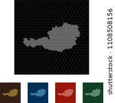 map of austria   Shutterstock .eps vector #1108508156