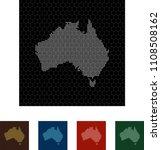 map of australia   Shutterstock .eps vector #1108508162