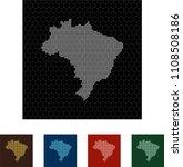 map of brazil   Shutterstock .eps vector #1108508186