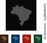 map of brazil   Shutterstock .eps vector #1108508192