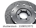 new racing car brake disc  ... | Shutterstock . vector #1108515572