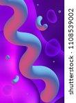 dark purple  pink vertical... | Shutterstock . vector #1108539002