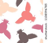 seamless vector pattern with... | Shutterstock .eps vector #1108596785