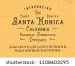 original handmade alphabet.... | Shutterstock .eps vector #1108603295
