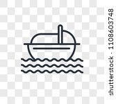moses vector icon isolated on... | Shutterstock .eps vector #1108603748