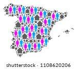 population spain map. household ...   Shutterstock .eps vector #1108620206