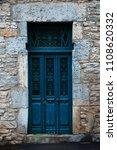 blue old door | Shutterstock . vector #1108620332