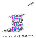 population trinidad and tobago... | Shutterstock .eps vector #1108629698