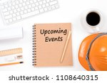 upcoming events concept. top... | Shutterstock . vector #1108640315