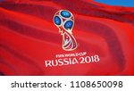 russia moscow june 2018  fifa... | Shutterstock . vector #1108650098