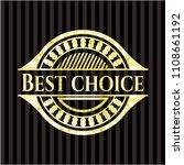 best choice goldbest choice... | Shutterstock .eps vector #1108661192