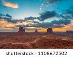 monument valley  utah  usa | Shutterstock . vector #1108672502