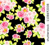 abstract elegance seamless... | Shutterstock . vector #1108692038