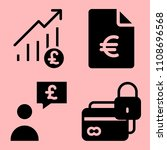 business icons set of... | Shutterstock .eps vector #1108696568
