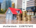 real estate investment concept | Shutterstock . vector #1108707692