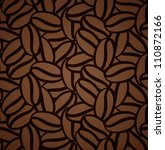 seamless pattern with coffee... | Shutterstock .eps vector #110872166