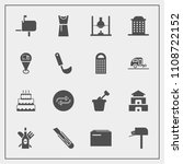 modern  simple vector icon set... | Shutterstock .eps vector #1108722152