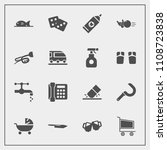 modern  simple vector icon set... | Shutterstock .eps vector #1108723838