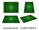different perspective of green... | Shutterstock . vector #1108733852