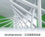 3d abstract architecture... | Shutterstock . vector #110880068