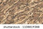 petrified wood pattern.... | Shutterstock . vector #1108819388