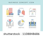 business concept illustration... | Shutterstock .eps vector #1108848686
