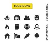 mixed icons set with smiley ...
