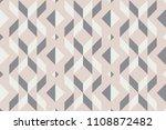 geo seamless pattern ... | Shutterstock .eps vector #1108872482