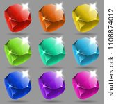 vector isolated collection of...