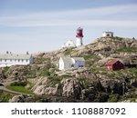 photo of lindesnes beacon in... | Shutterstock . vector #1108887092