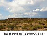 the sonora desert in central... | Shutterstock . vector #1108907645